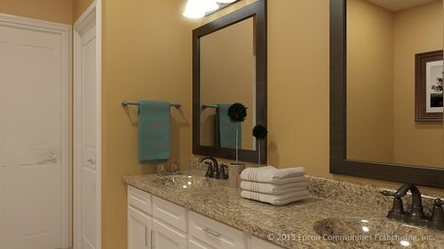Bathroom-in-Salerno-at-Fairway Estates at Catawba Island Club-in-Port Clinton