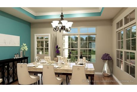 Dining-in-Salerno-at-Fairway Estates at Catawba Island Club-in-Port Clinton