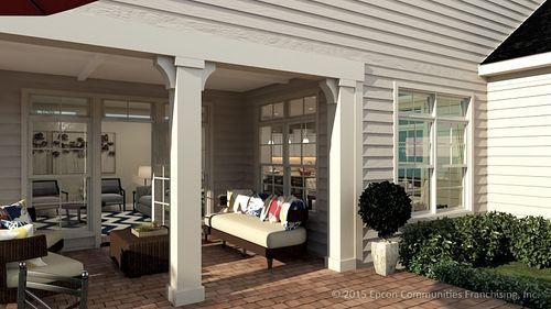Front-Porch-in-Salerno-at-Fairway Estates at Catawba Island Club-in-Port Clinton