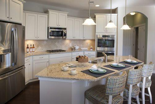 Kitchen-in-Portico-at-Fairway Estates at Catawba Island Club-in-Port Clinton