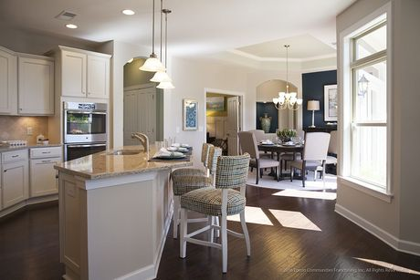 Kitchen-in-Portico-at-Fairway Estates at Catawba Island Club-in-Port Clinton