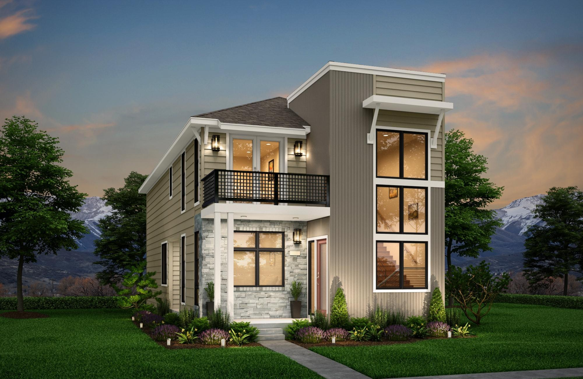 Exterior featured in the Transcend By Epic Homes in Denver, CO
