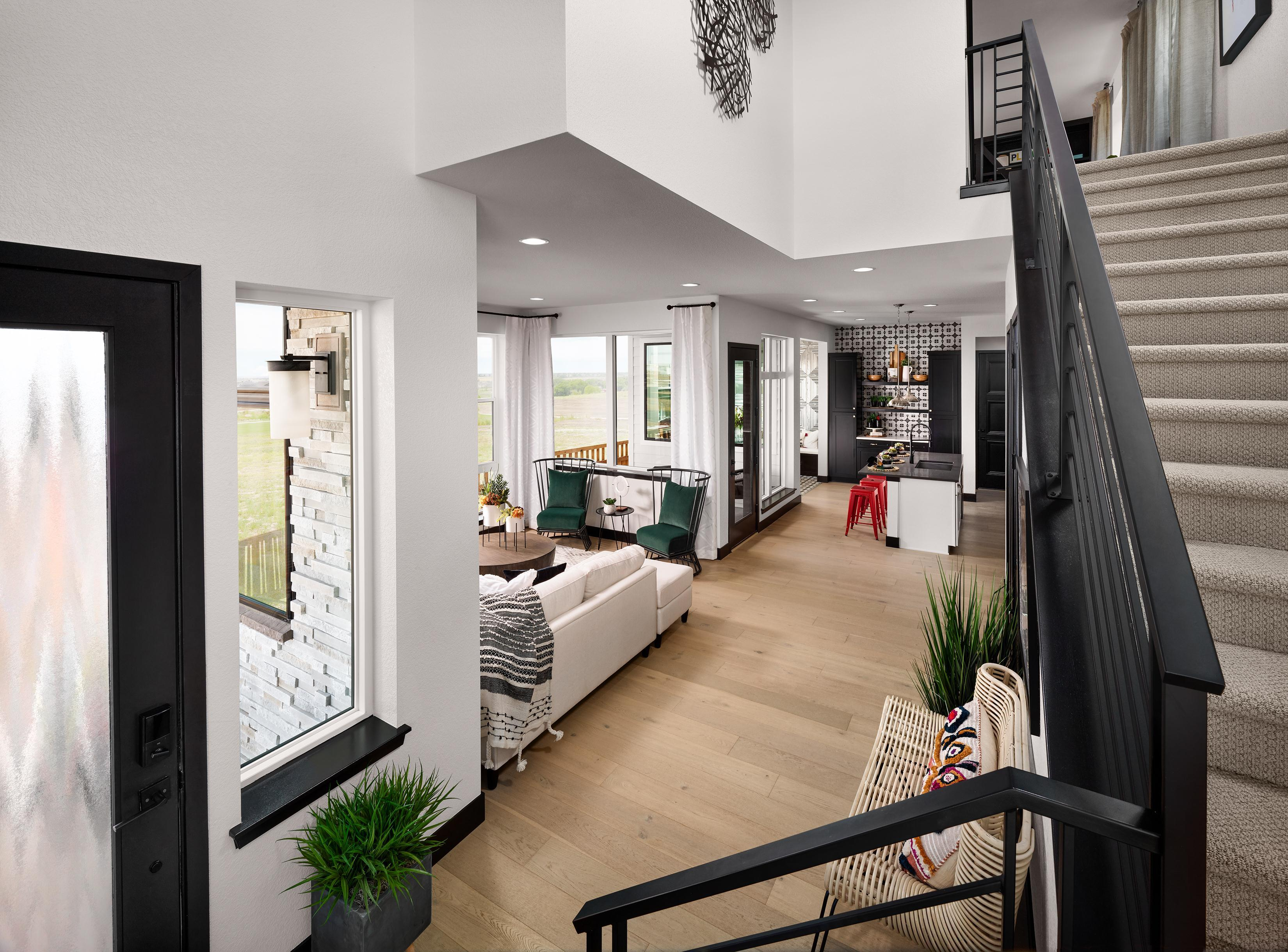 Living Area featured in the Transcend  By Epic Homes in Denver, CO