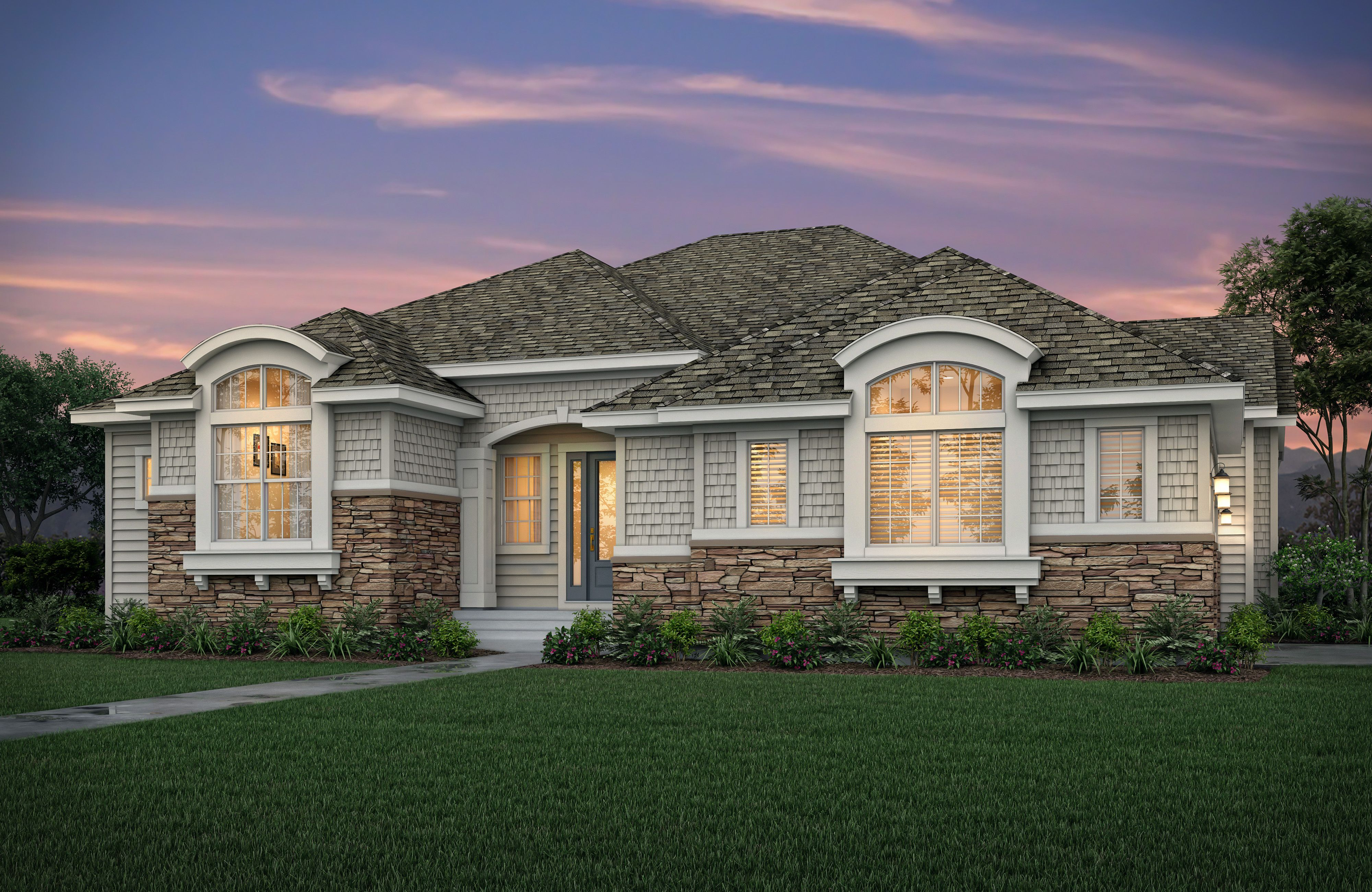 Exterior featured in the Residence 1 By Epic Homes in Denver, CO
