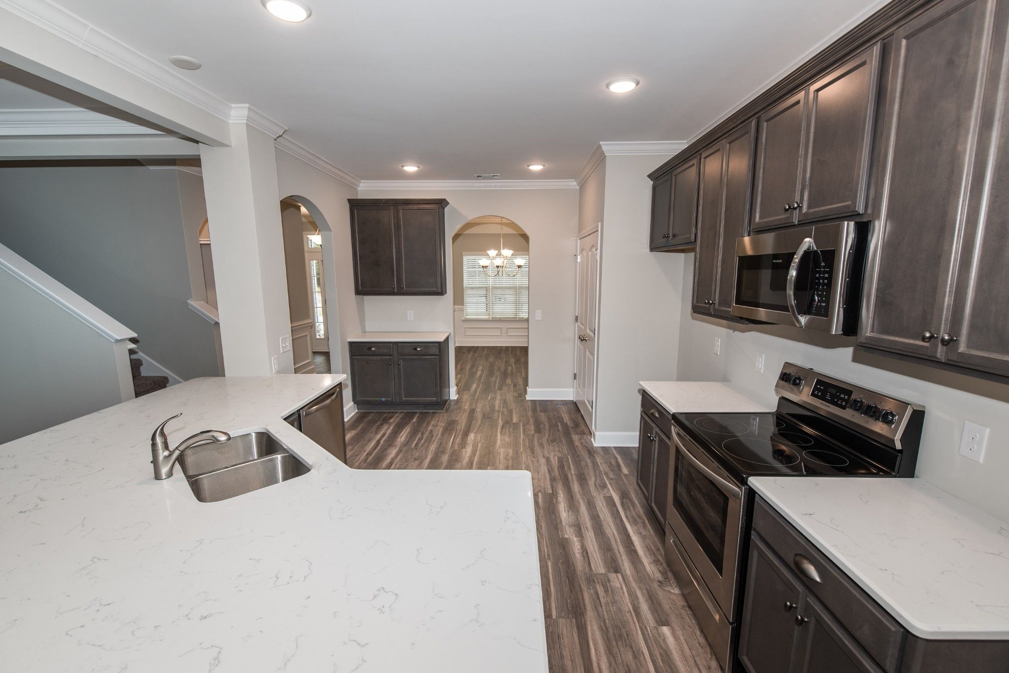 Kitchen featured in the Hilton By Ernest Homes in Savannah, GA