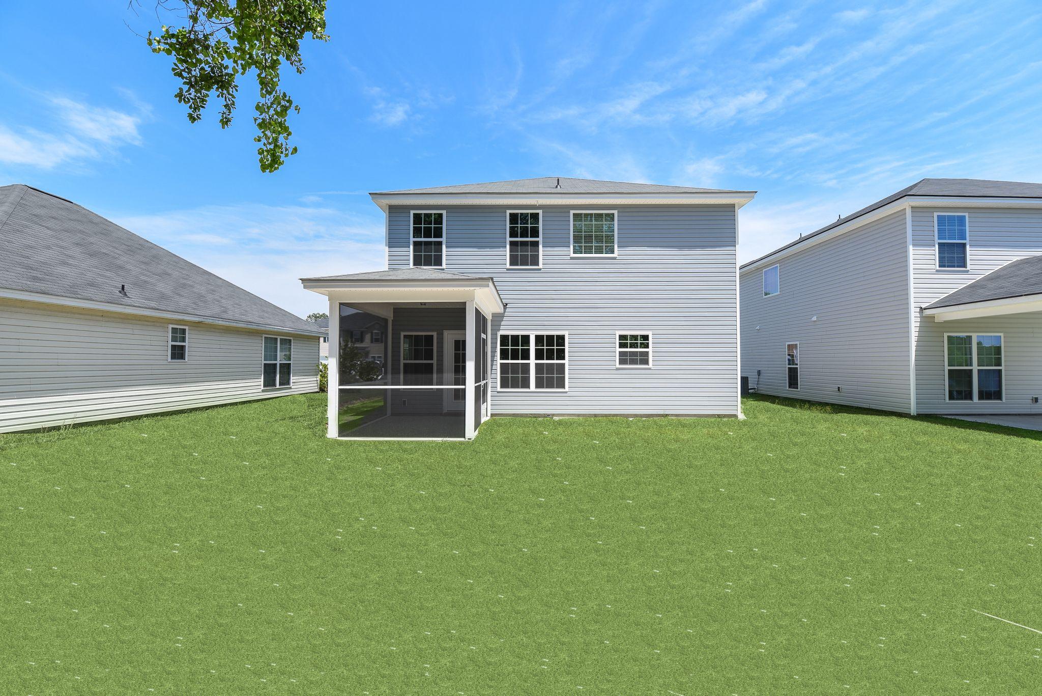 Exterior featured in the Daufuski By Ernest Homes in Savannah, GA