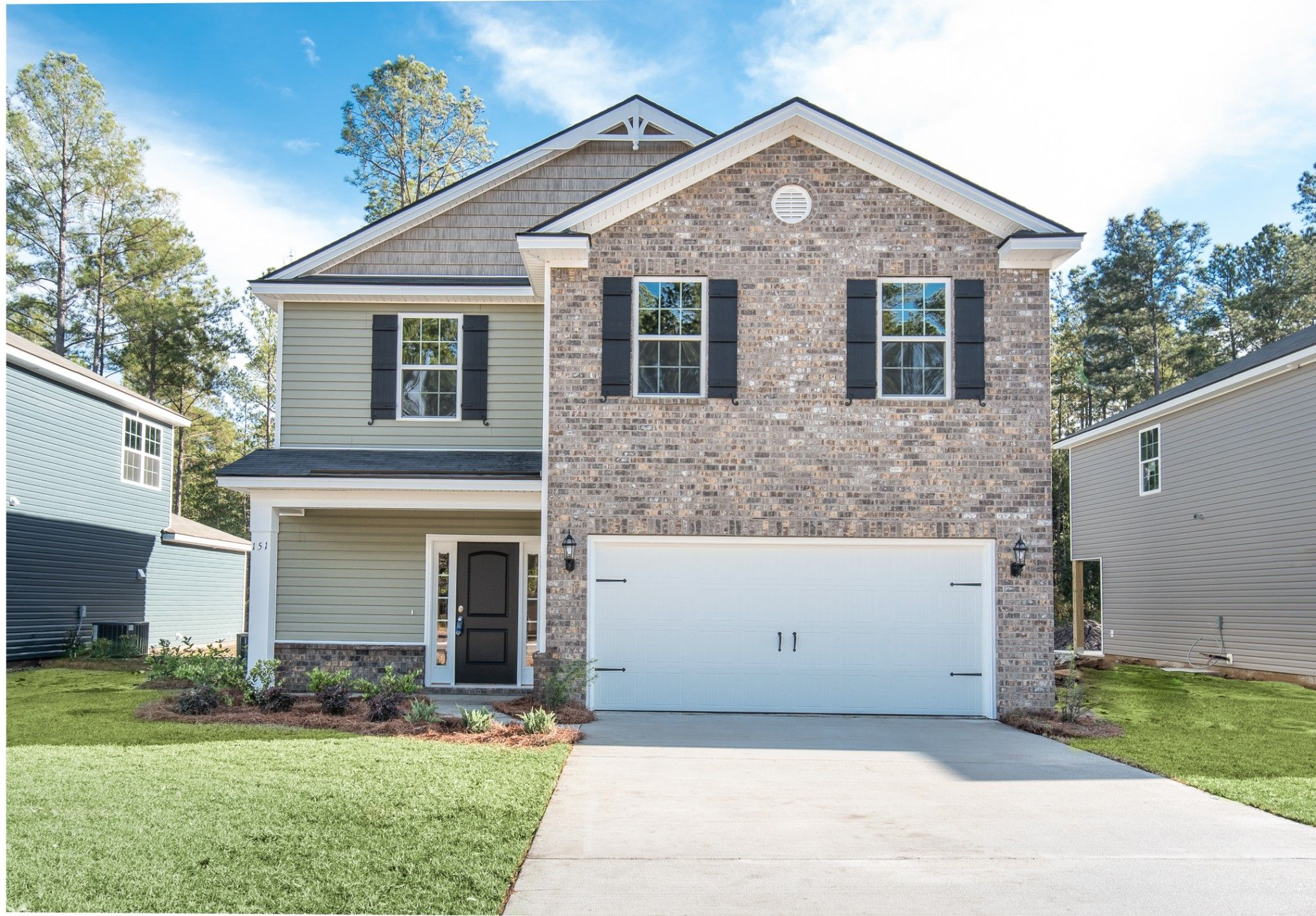 Exterior featured in the Edisto By Ernest Homes in Savannah, GA