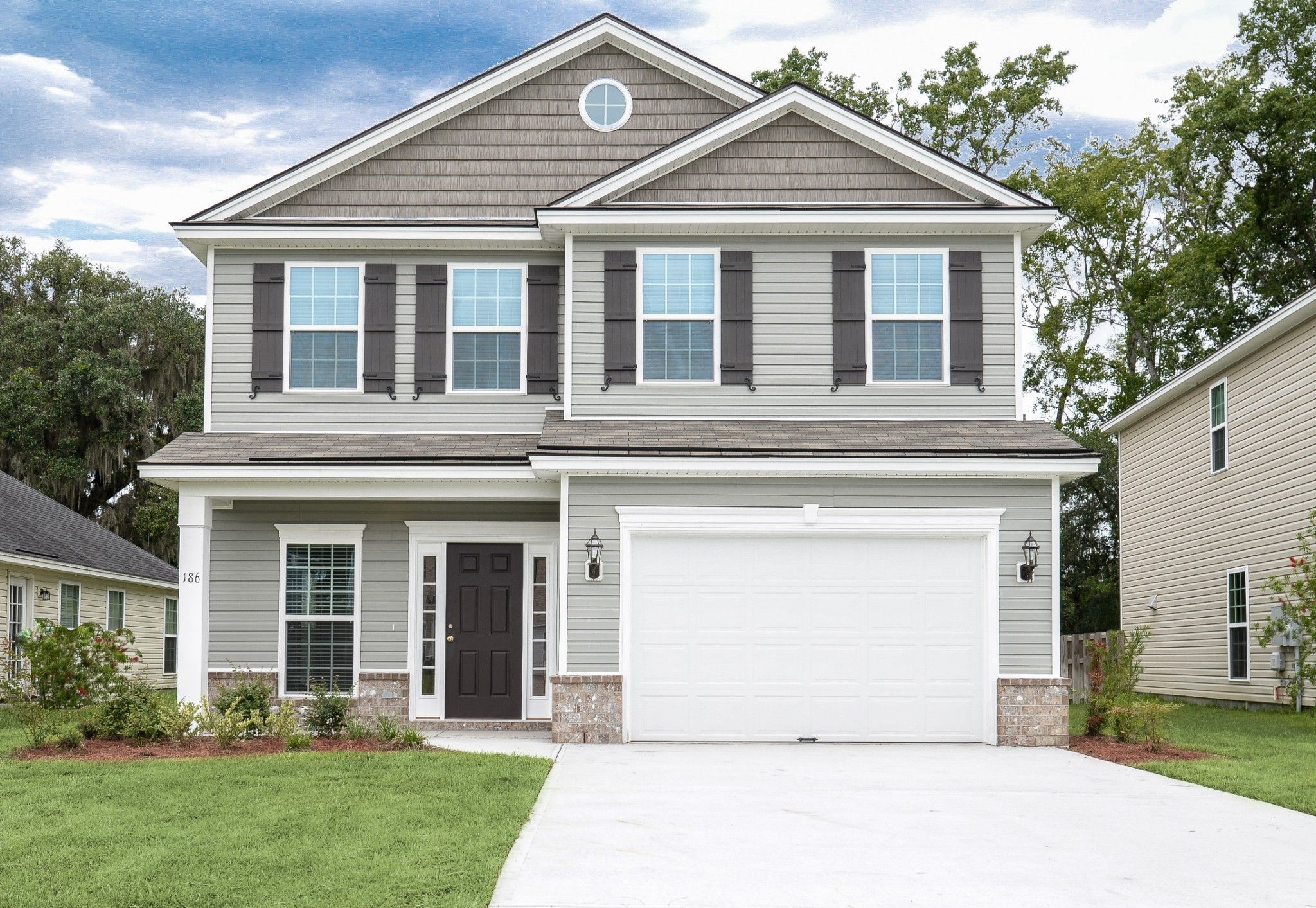 Exterior featured in the Hatteras By Ernest Homes in Savannah, GA