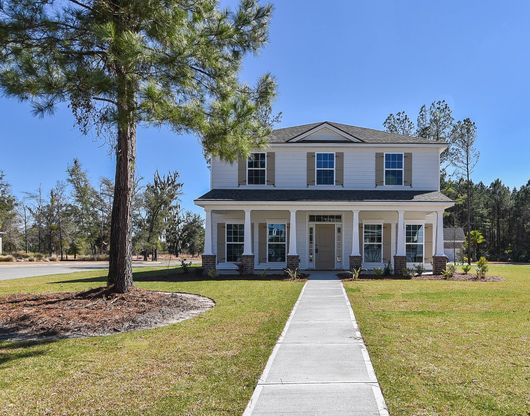 Elevation D with rear entry garage - per community standards:Dogwood Signature