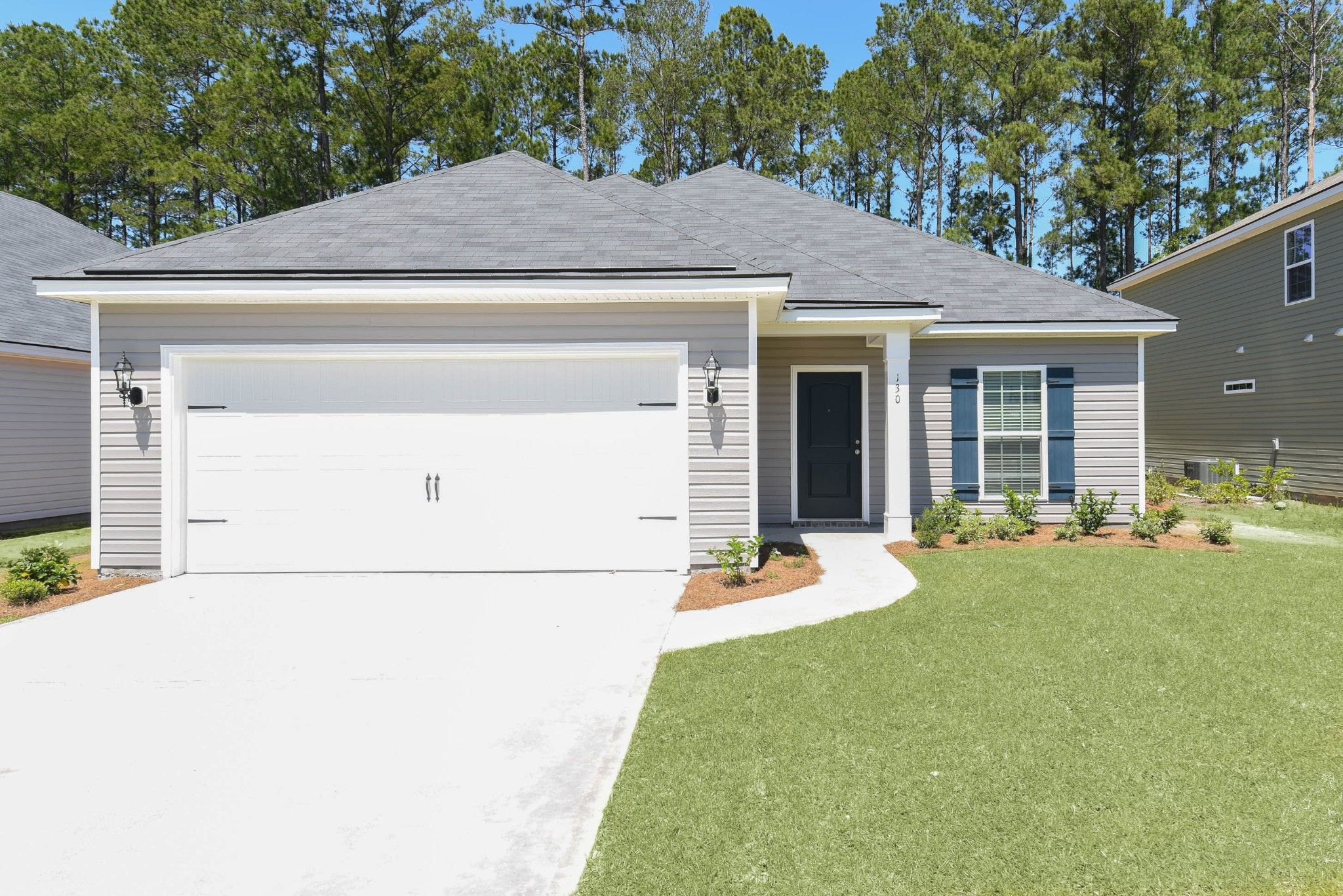 Exterior featured in the Hampton By Ernest Homes in Savannah, GA