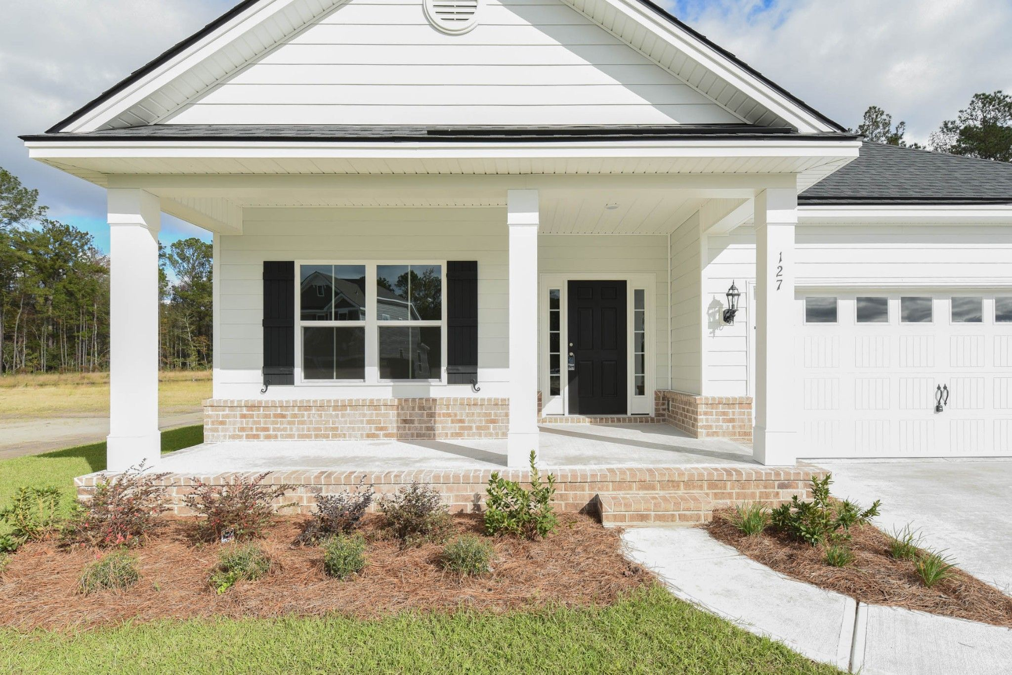 Exterior featured in the Wassaw By Ernest Homes in Savannah, GA