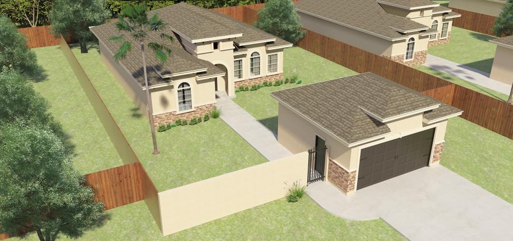 Exterior featured in the Santa Cruz By Esperanza in Rio Grande Valley, TX