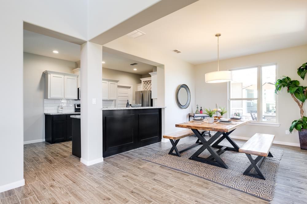 Living Area featured in the Rosario By Esperanza in Rio Grande Valley, TX