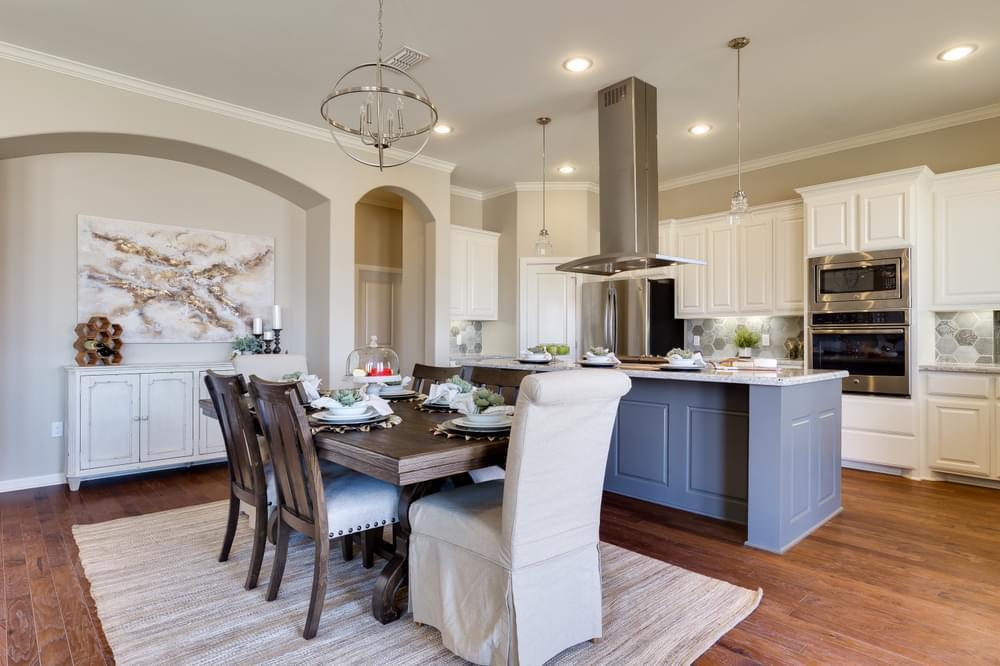 Living Area featured in the Capistrano By Esperanza in Rio Grande Valley, TX