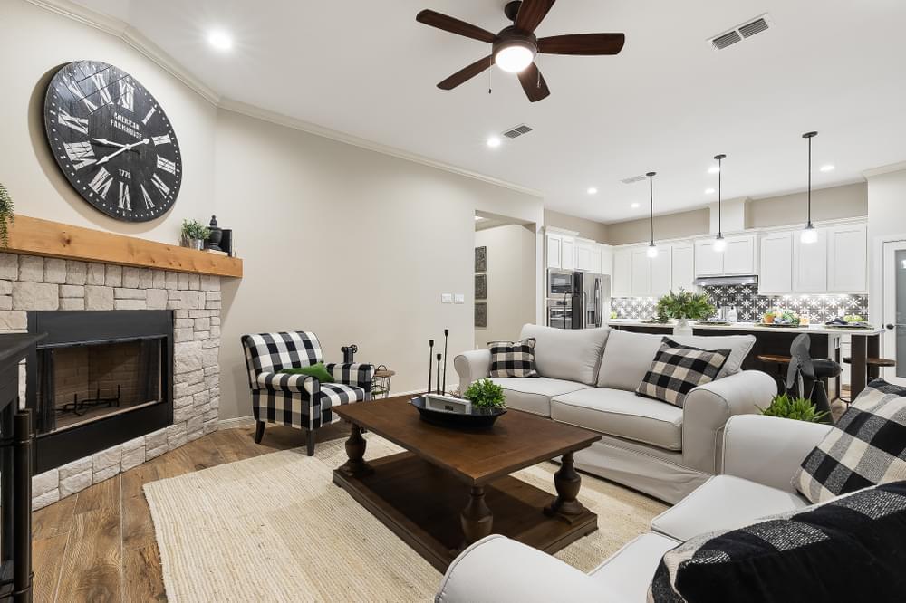 Living Area featured in the Francisco By Esperanza in Rio Grande Valley, TX
