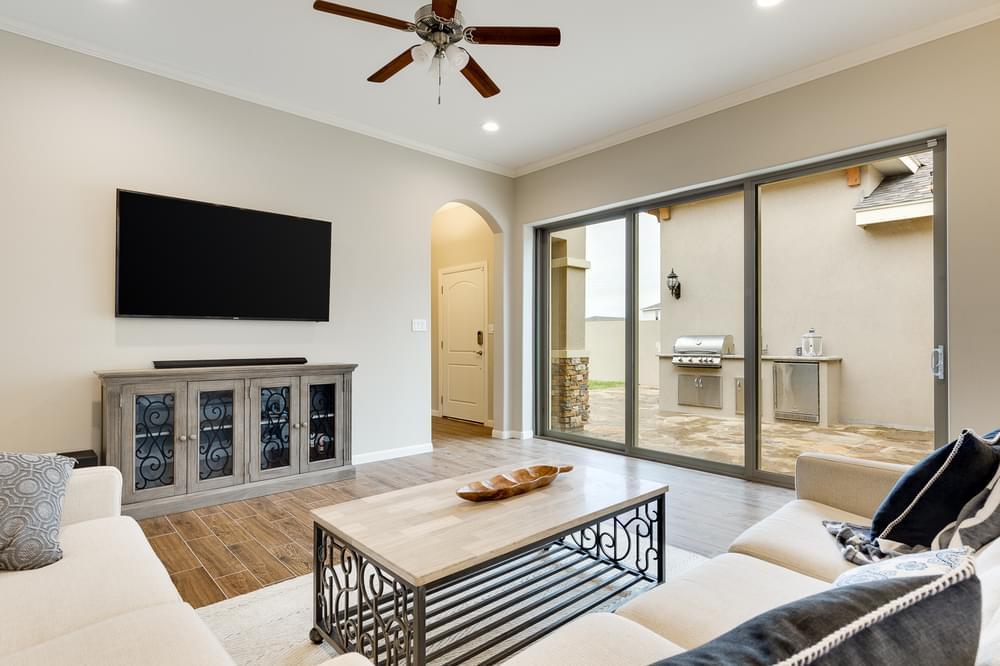 Living Area featured in the Santa Maria By Esperanza in Rio Grande Valley, TX