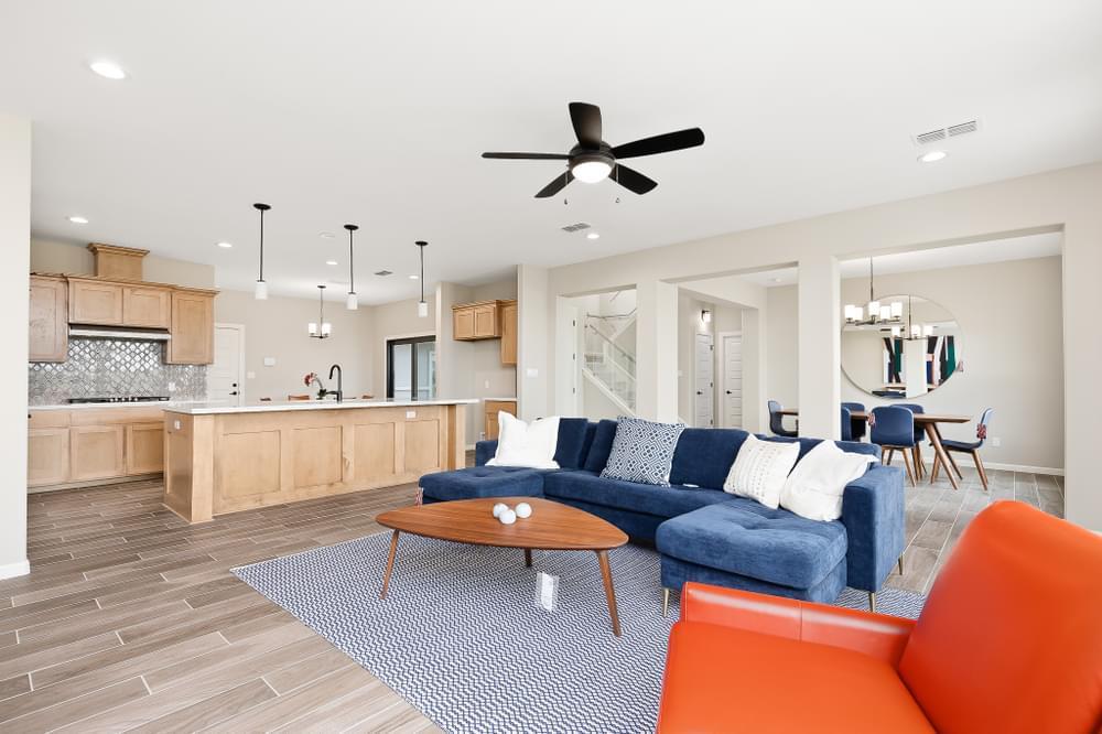 Living Area featured in the Valero By Esperanza in Rio Grande Valley, TX