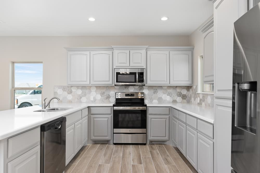 Kitchen featured in the Augustin By Esperanza in Rio Grande Valley, TX
