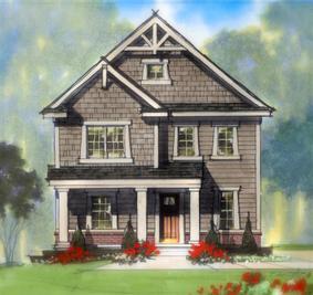 The Woodhaven - Harmony: Westfield, Indiana - Estridge Homes