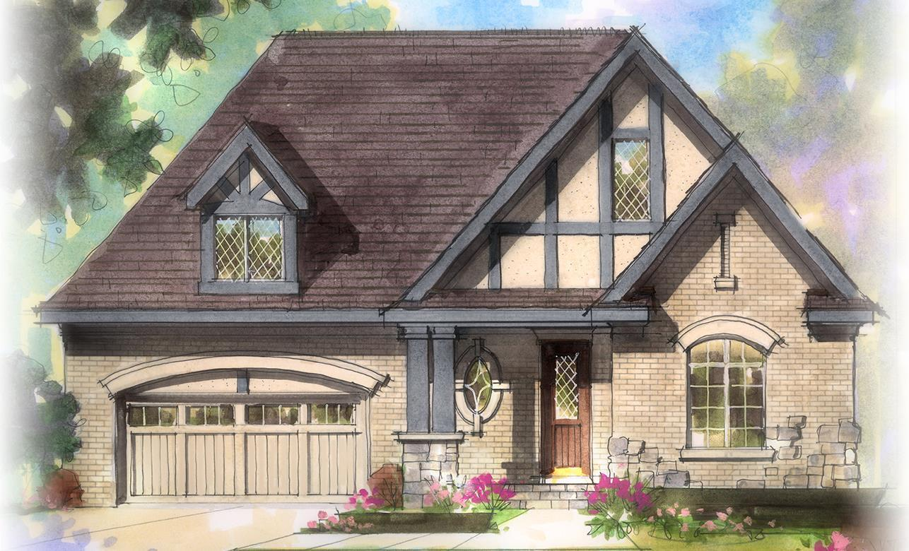 Exterior featured in The Warren By Estridge Homes in Indianapolis, IN