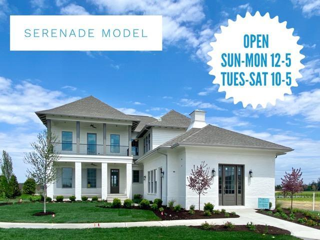 Exterior featured in the Lockerbie 303 By Estridge Homes in Indianapolis, IN