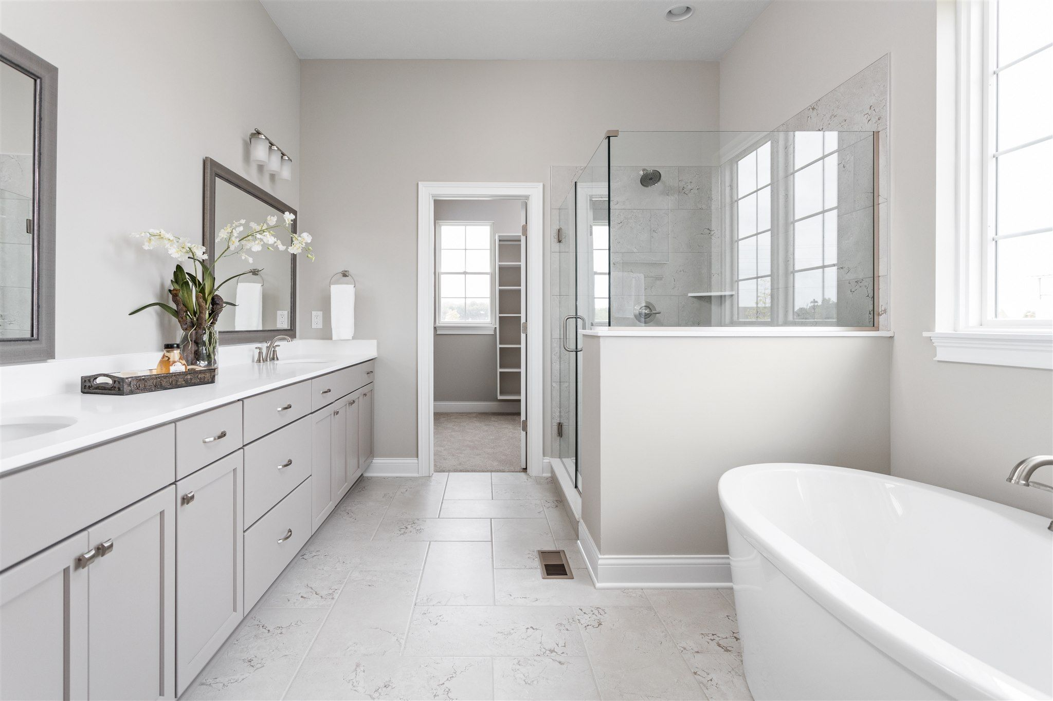 Bathroom featured in the Lockerbie 331 By Estridge Homes in Indianapolis, IN