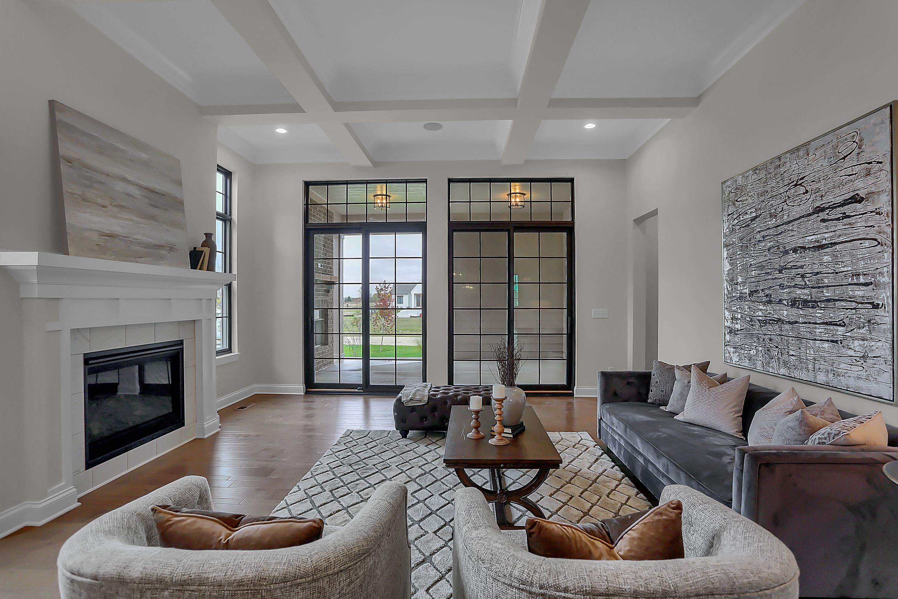 Living Area featured in the Lockerbie 303 By Estridge Homes in Indianapolis, IN