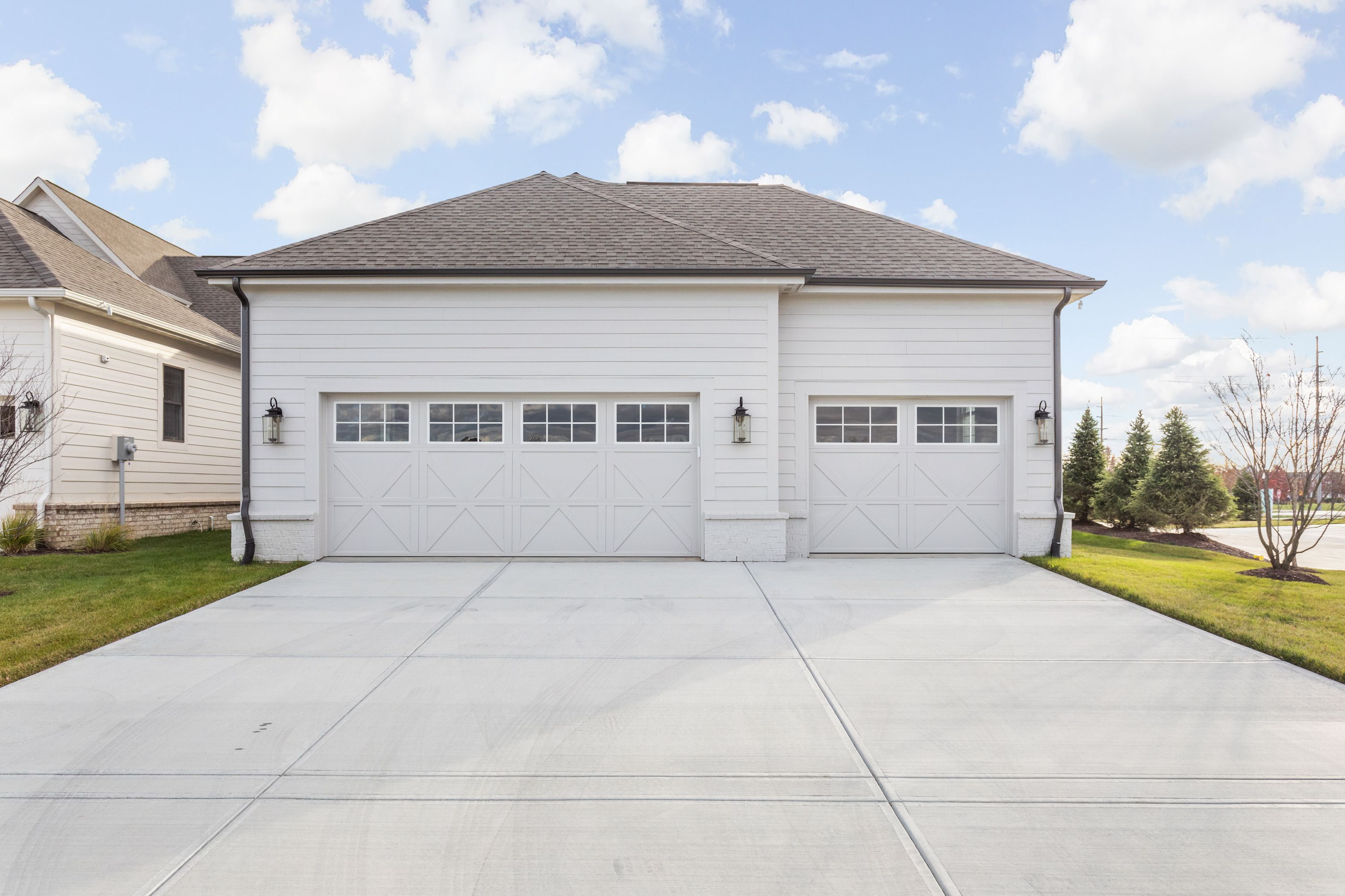 Exterior featured in the Lockerbie 323 By Estridge Homes in Indianapolis, IN