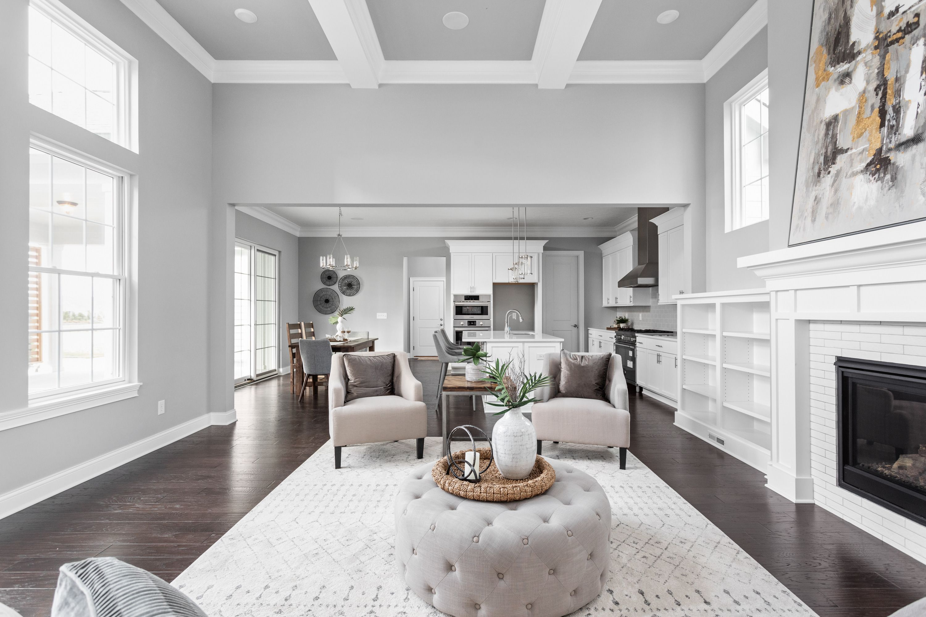 Living Area featured in the Lockerbie 323 By Estridge Homes in Indianapolis, IN