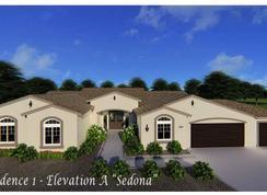 Residence 1 - Dorada: Apple Valley, California - Evergreen Homes LLC