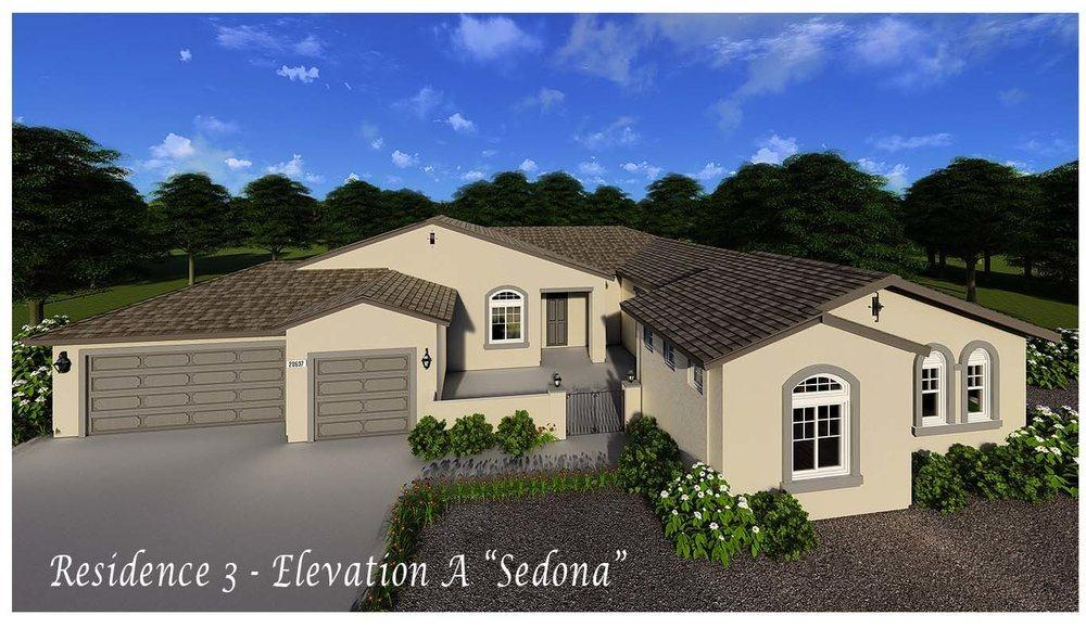 Exterior featured in the Residence 3 By Evergreen Homes LLC in Riverside-San Bernardino, CA