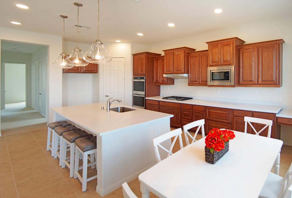 Kitchen featured in the Residence 1 By Evergreen Homes LLC in Riverside-San Bernardino, CA