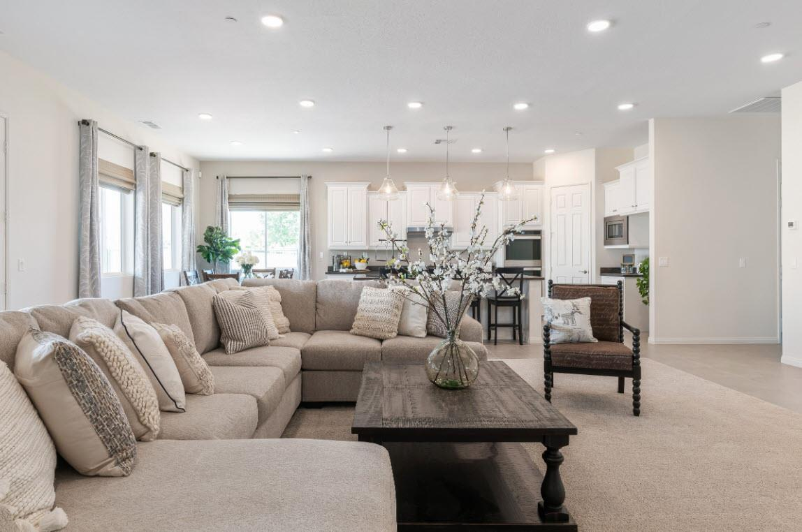 Living Area featured in the Residence 2 By Evergreen Homes LLC in Riverside-San Bernardino, CA
