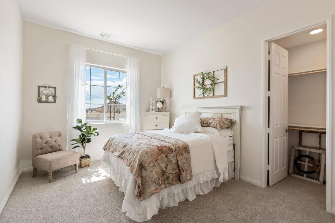 Bedroom featured in the Residence 2 By Evergreen Homes LLC in Riverside-San Bernardino, CA