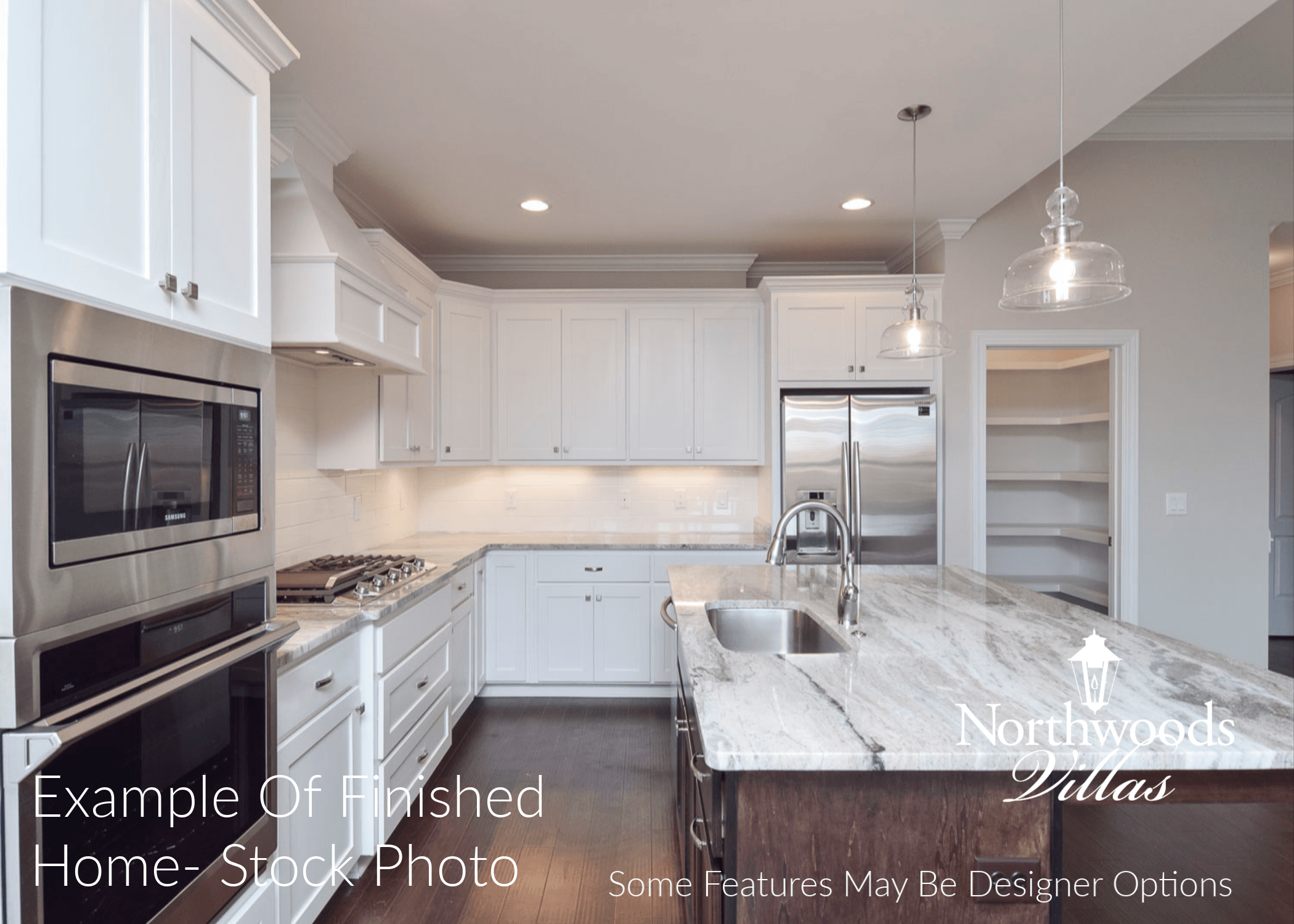 Kitchen featured in the Northwood Villas-Sawgrass II By Executive Construction Homes