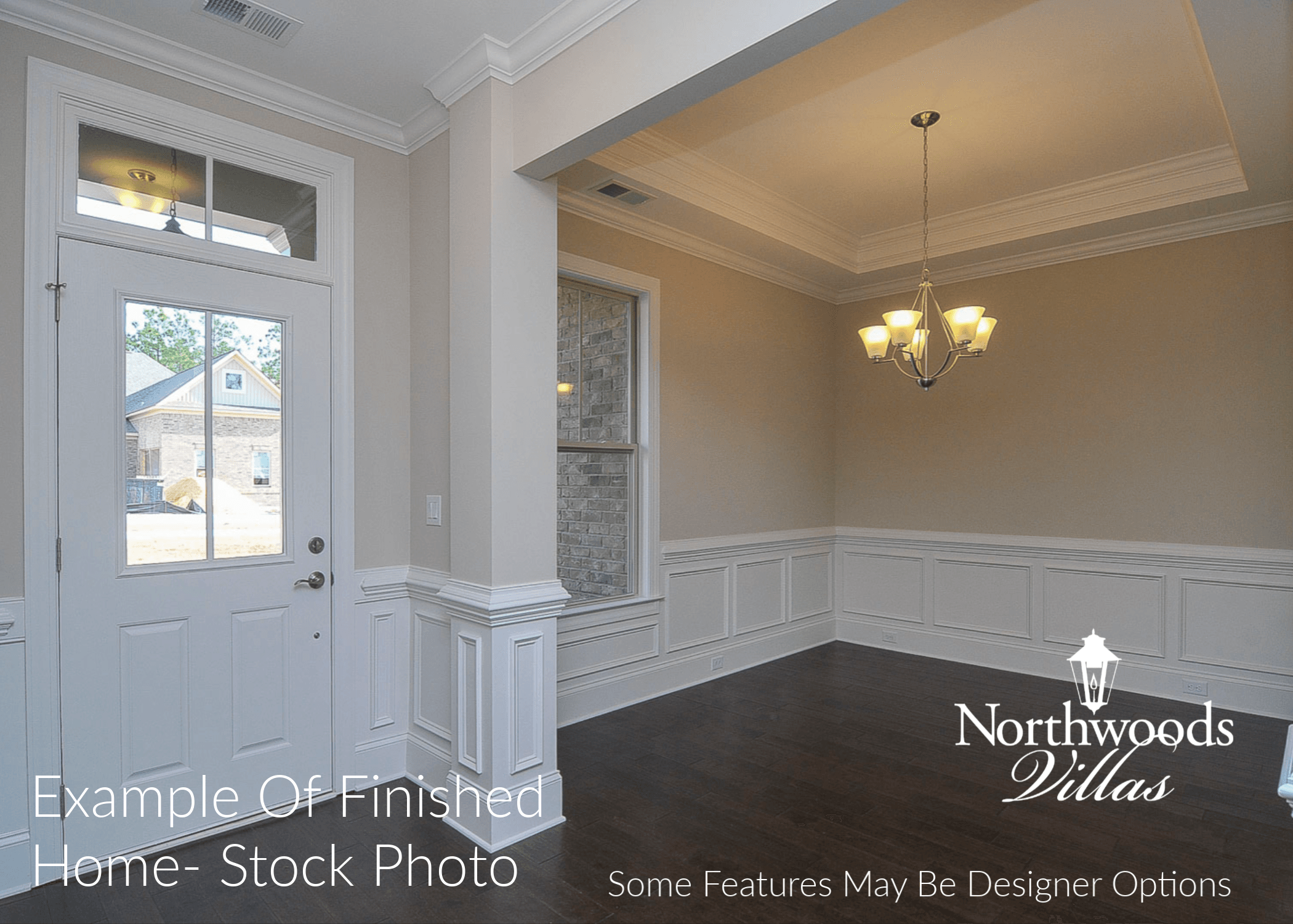 Living Area featured in the Northwood Villas-Augusta III By Executive Construction Homes