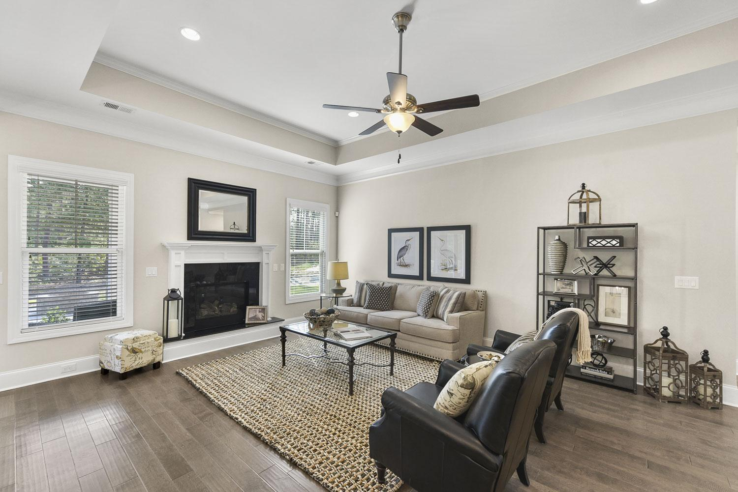 Living Area featured in the Northwood Villas-Sawgrass III By Executive Construction Homes