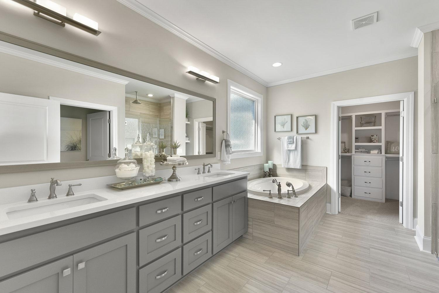 Bathroom featured in the Northwood Villas-Sawgrass III By Executive Construction Homes