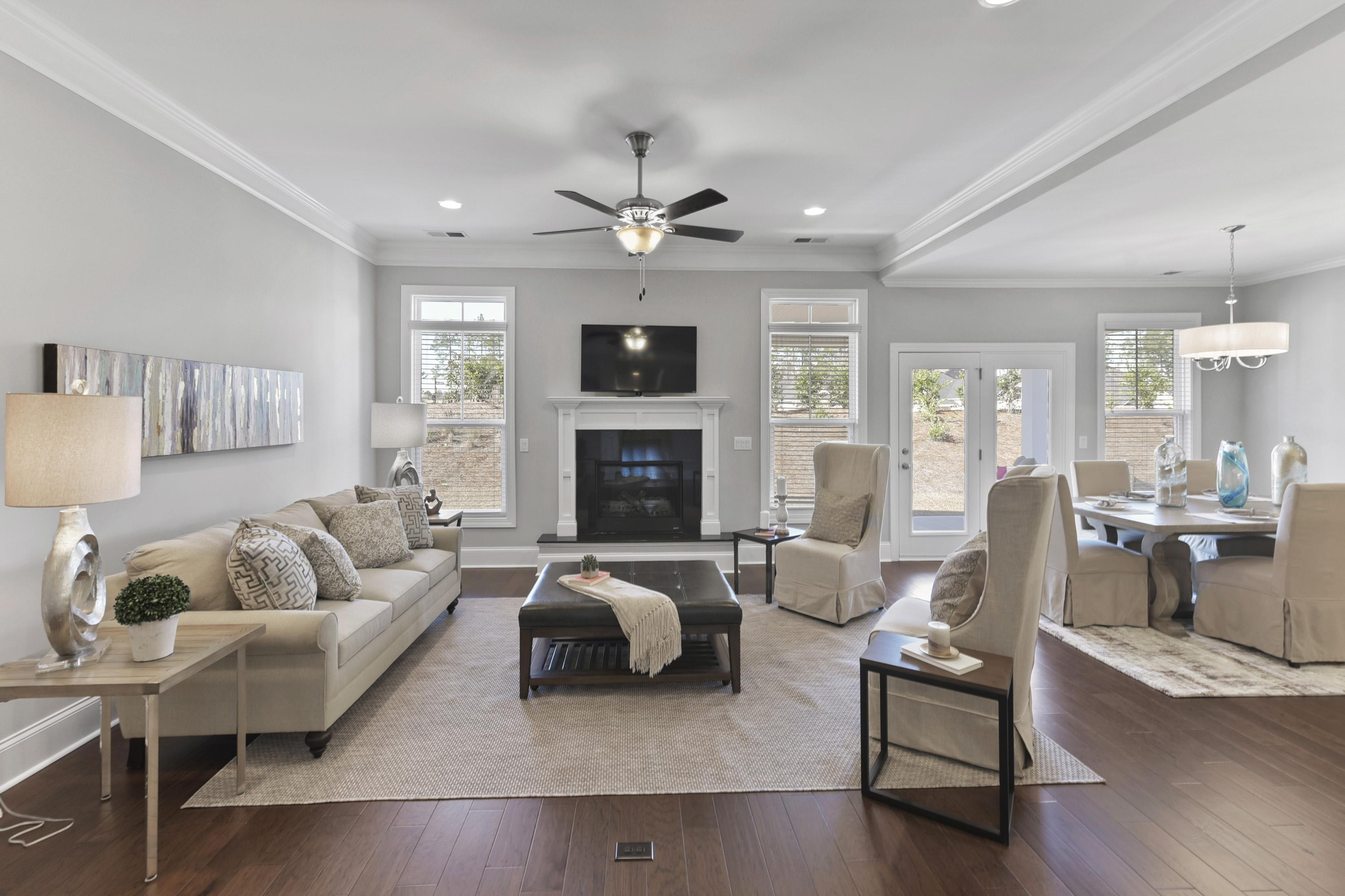 Living Area featured in the Northwood Villas-Sawgrass I By Executive Construction Homes