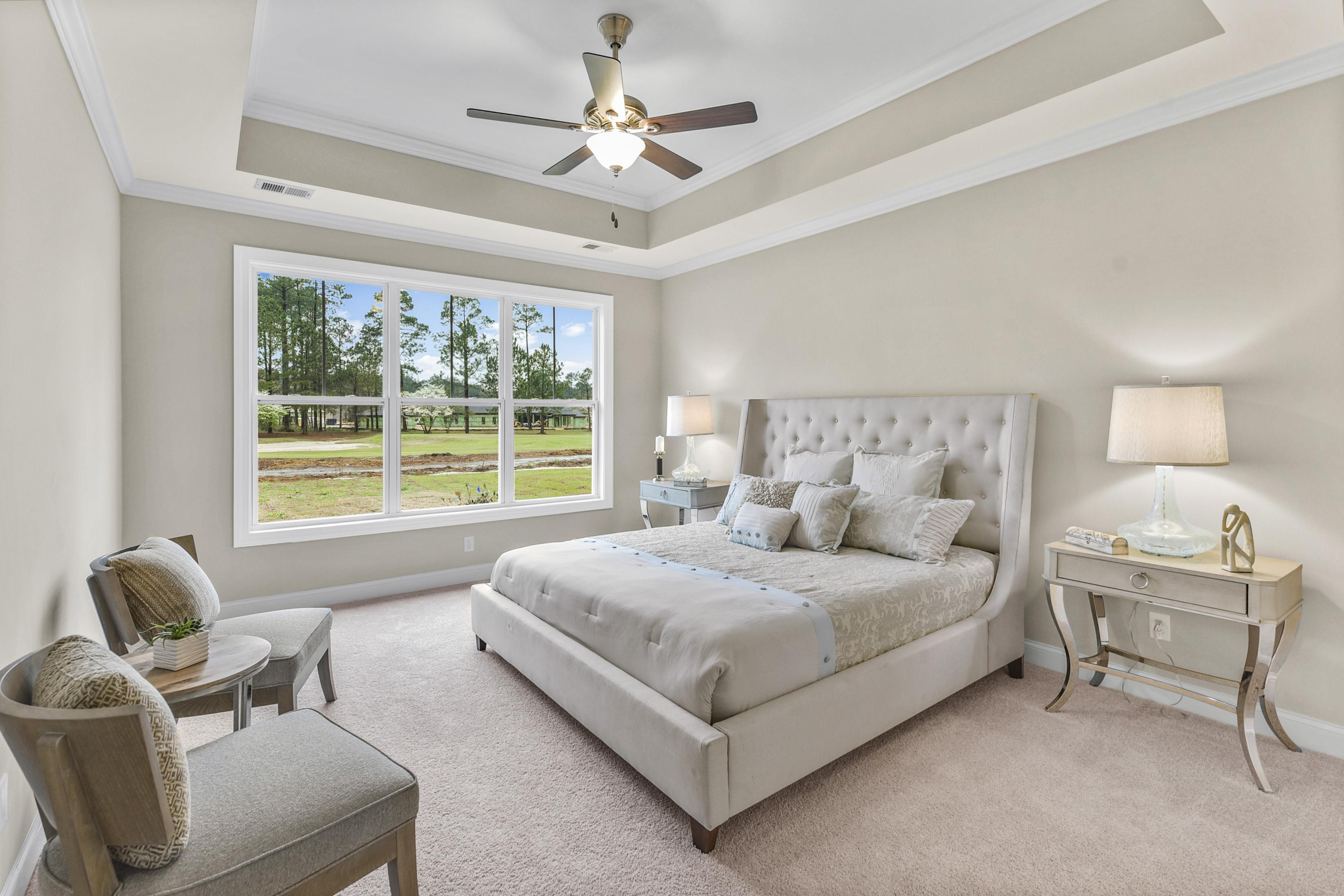 Bedroom featured in the Callawassie- Club Ridge Designer Series By Executive Construction Homes
