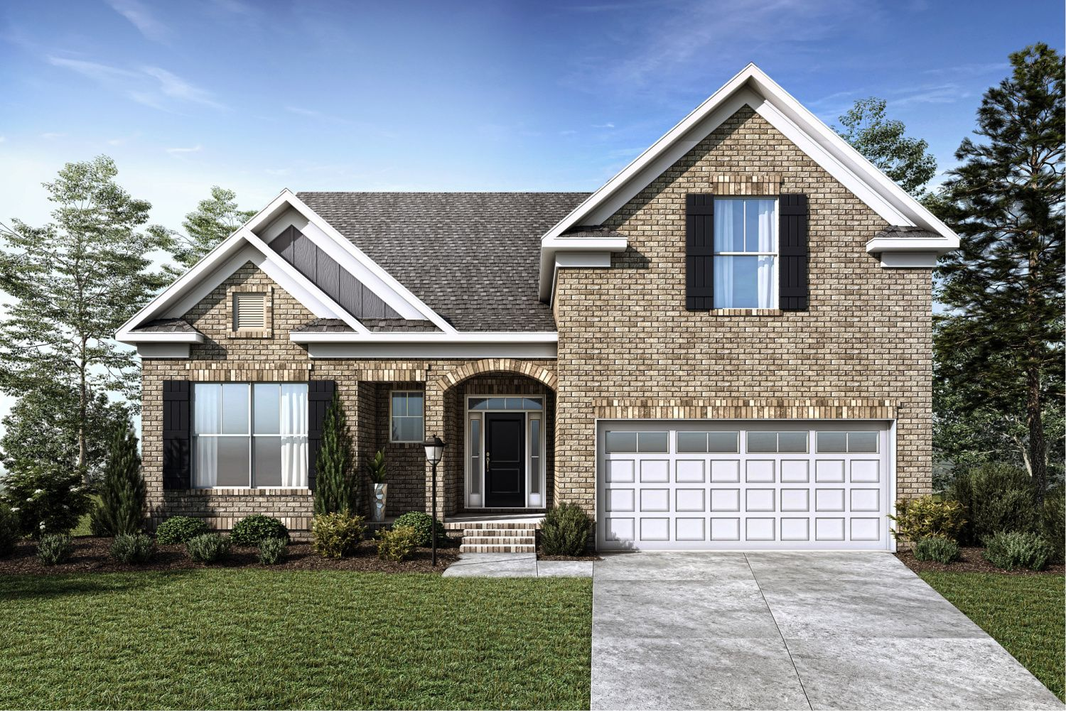 Exterior featured in the Northwood Villas-Sawgrass III By Executive Construction Homes