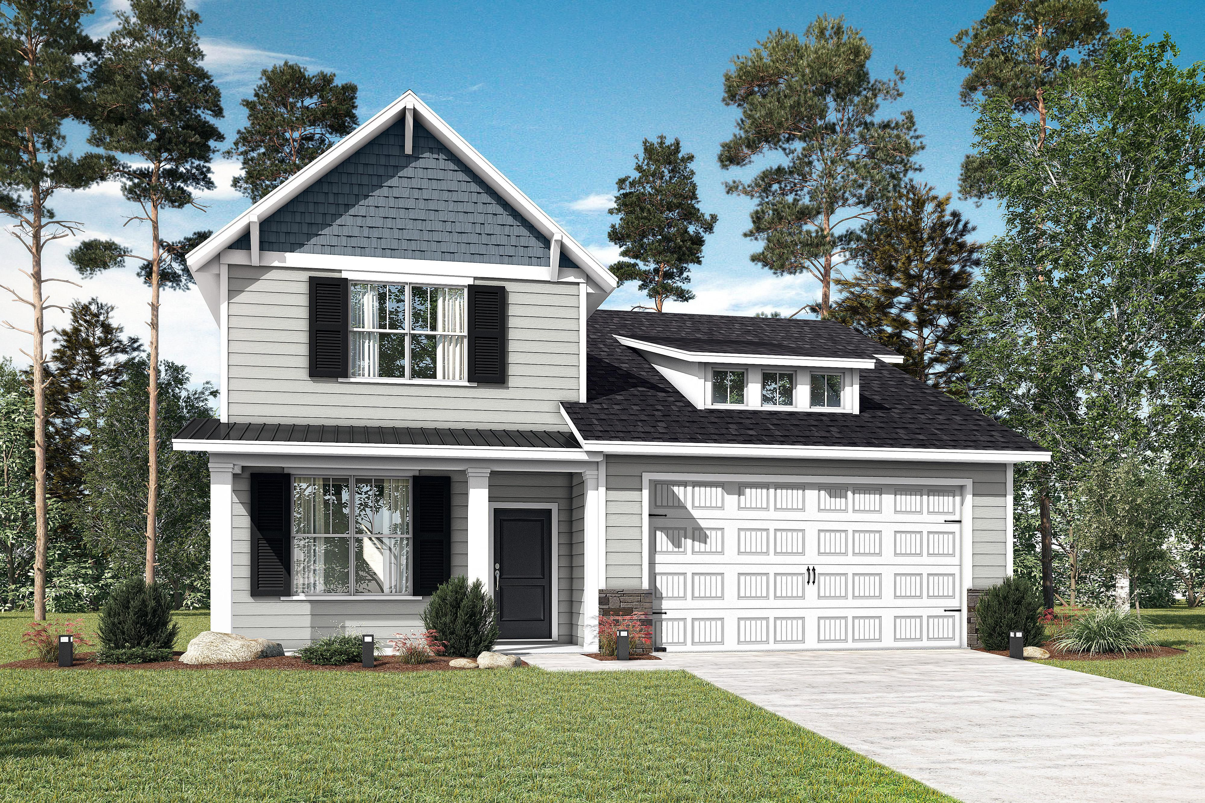 Exterior featured in The Aviary Classic/Village Series By Executive Construction Homes