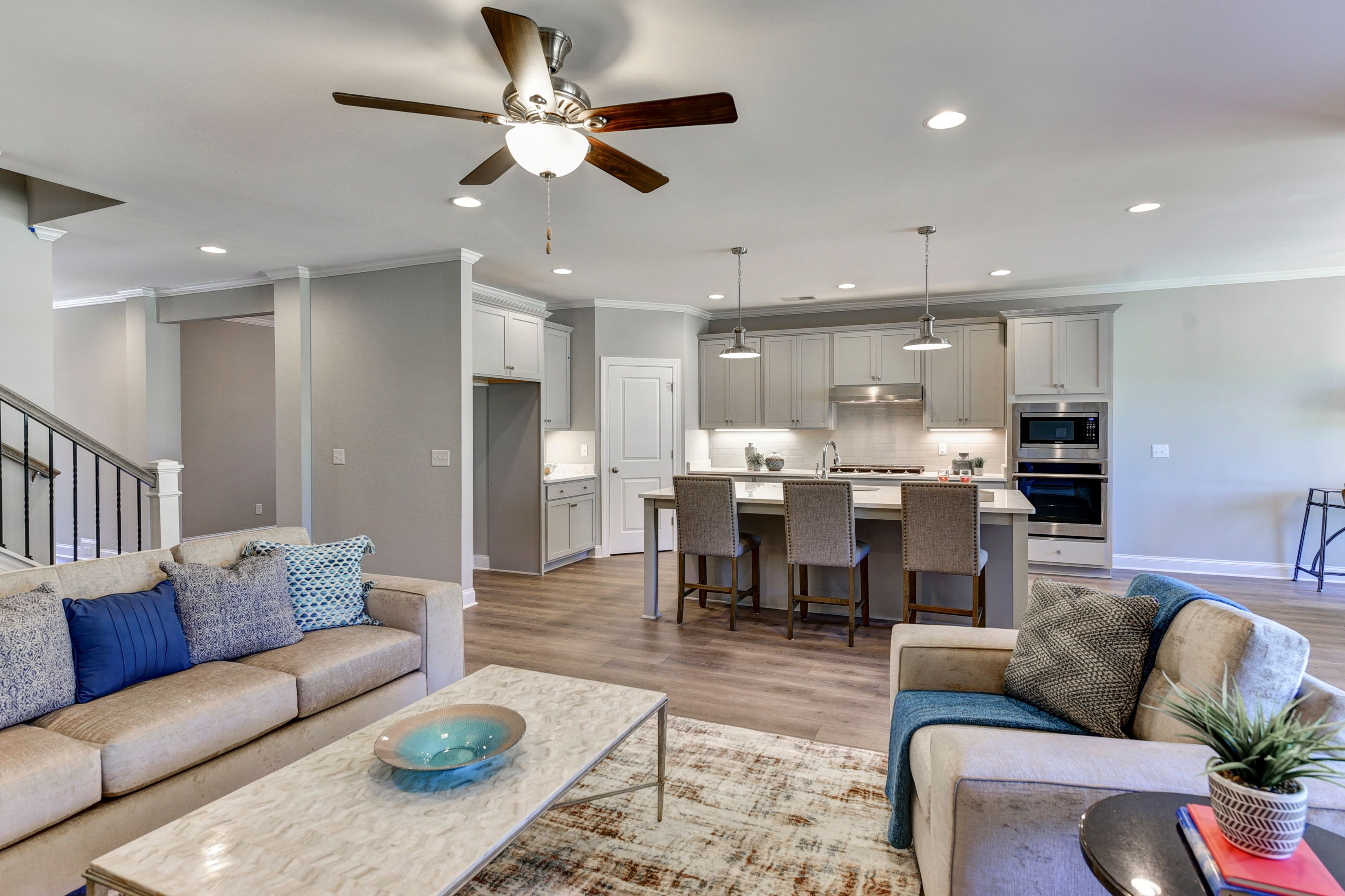 Living Area featured in the Litchfield- NWV By Executive Construction Homes in Columbia, SC