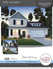 The Aviary Classic/Village Series - The Cottages at Woodcreek Farms: Elgin, South Carolina - Executive Construction Homes