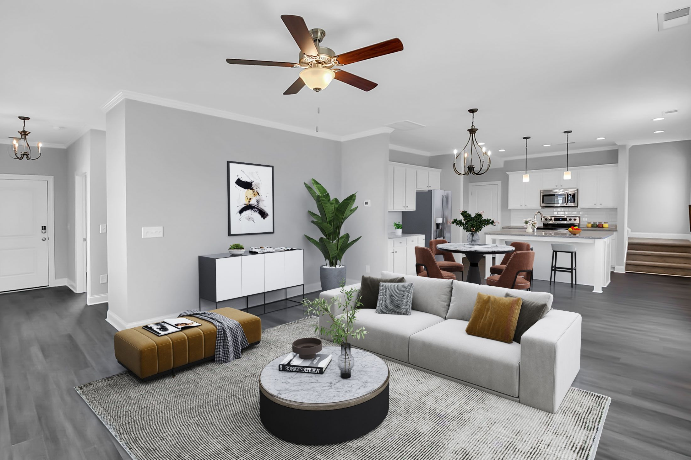 Living Area featured in the Sparrow Sidney Walk By Executive Construction Homes in Columbia, SC