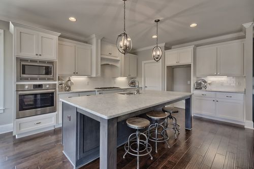 Kitchen-in-The Torrey Pines II-at-Woodcreek Farms-in-Elgin
