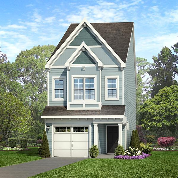 Exterior featured in the Onslow By ExperienceOne Homes, LLC in Raleigh-Durham-Chapel Hill, NC