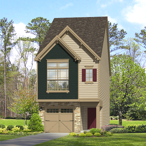Exterior featured in the Shackleford By ExperienceOne Homes, LLC in Raleigh-Durham-Chapel Hill, NC