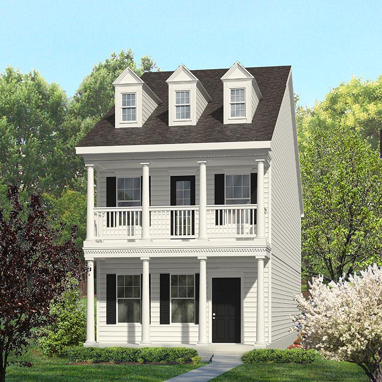 Exterior featured in the Magnolia By ExperienceOne Homes, LLC in Raleigh-Durham-Chapel Hill, NC