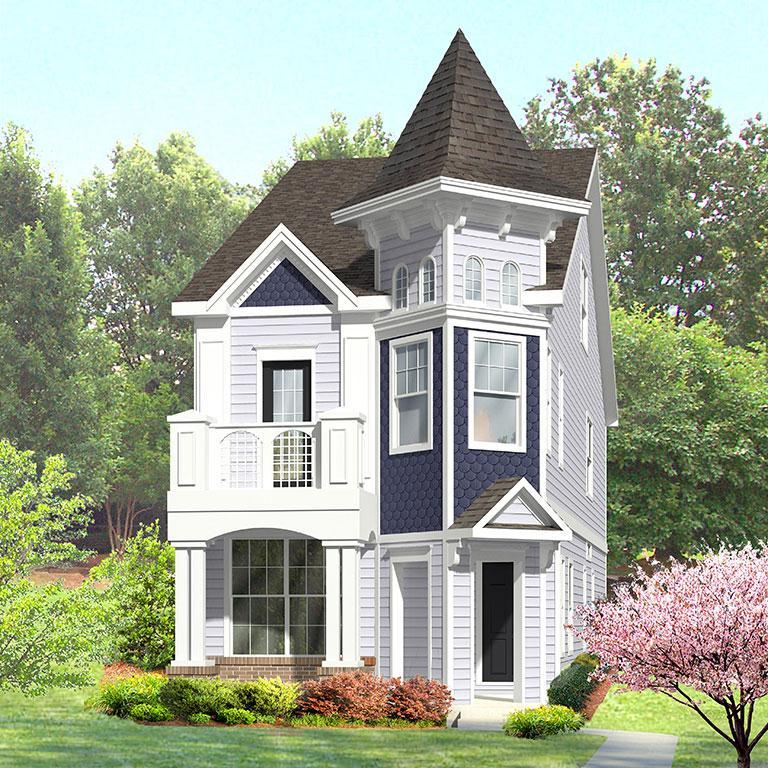 Exterior featured in the St. James By ExperienceOne Homes, LLC in Raleigh-Durham-Chapel Hill, NC